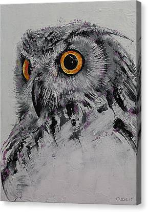 Spirit Owl Canvas Print by Michael Creese