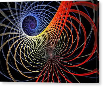 Spirograph Canvas Print by Amanda Moore