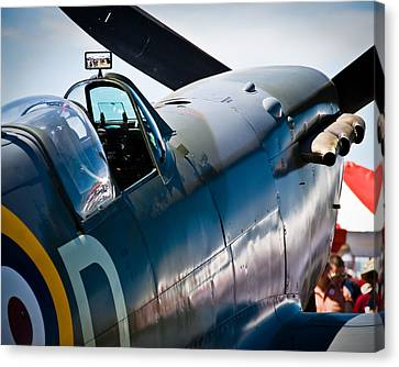 Spitfire Canvas Print by Eric Miller