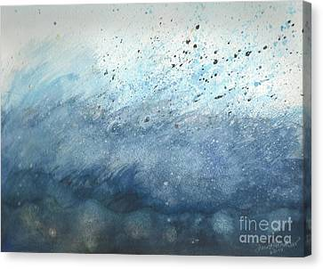 Splash   Canvas Print by Janet Hinshaw