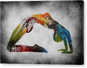 Splash Canvas Print by Steve K