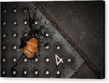 Splat Canvas Print by Wayne Stadler