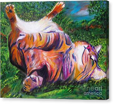 Splendor In The Grass Canvas Print by Andrea Folts