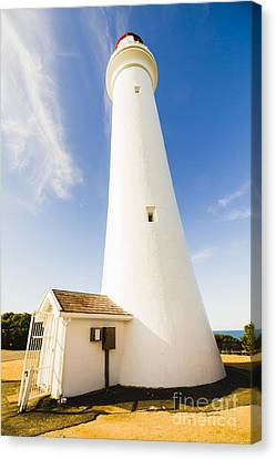 Split Point Lighthouse Canvas Print by Jorgo Photography - Wall Art Gallery