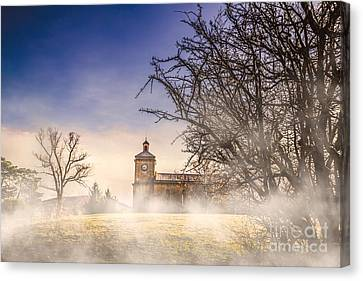 Spooky Old Church Canvas Print by Jorgo Photography - Wall Art Gallery