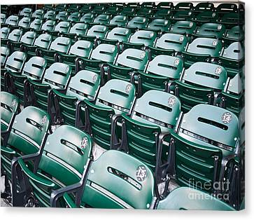 Sports Stadium Seats Picture Canvas Print by Paul Velgos