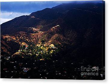 Spotlight From The Heavens Canvas Print by Clayton Bruster