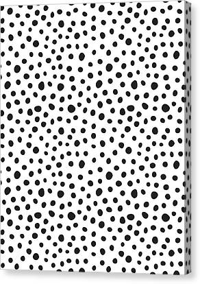 Spots Canvas Print by Rachel Follett