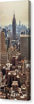 Sprawling Urban Jungle Canvas Print by Az Jackson
