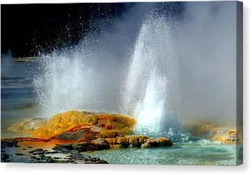 Spray Canvas Print by Kimberly Oegerle