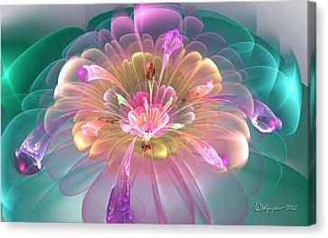 Spring Bloom Canvas Print by Peggi Wolfe