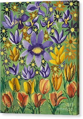 Spring Bloom Canvas Print by Sweta Prasad