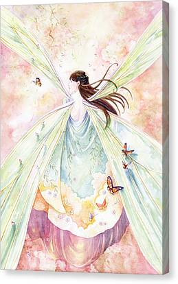 Spring Blossoms Canvas Print by Janet Chui