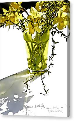 Spring Bouquet Canvas Print by Barb Pearson