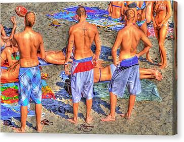 Spring Break Canvas Print by Debra and Dave Vanderlaan