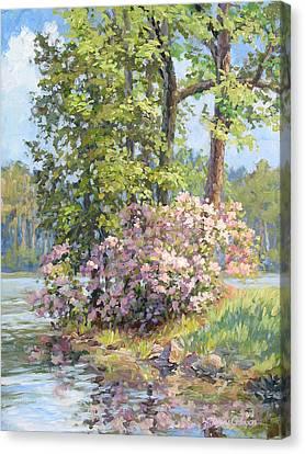 Spring Festival Canvas Print by L Diane Johnson