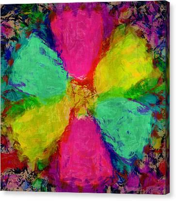 Spring Floral Canvas Print by Susan Leggett