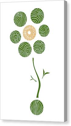 Spring Flower Canvas Print by Frank Tschakert