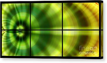 Spring Leaf Tiled Canvas Print by Corey Ford