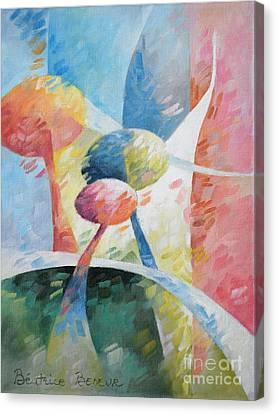 Spring Light Canvas Print by Beatrice BEDEUR