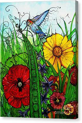 Spring Things Canvas Print by Carrie Jackson