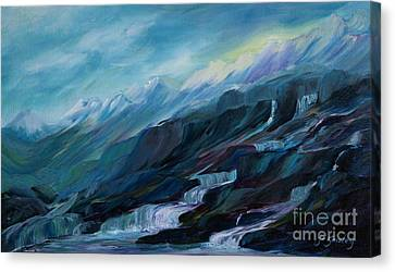 Spring Water Canvas Print by Joanne Smoley