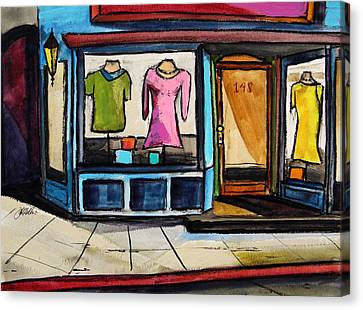 Spring Windows Canvas Print by John  Williams