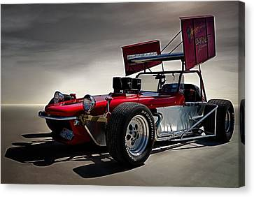 Sprint Car Canvas Print by Douglas Pittman