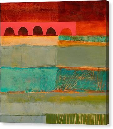Square Stripes Canvas Print by Jane Davies