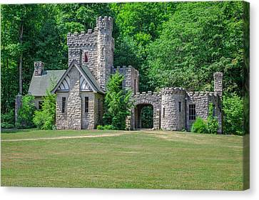 Squires Castle Canvas Print by Jack R Perry