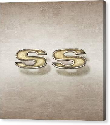 Super Sport Emblem Canvas Print by YoPedro