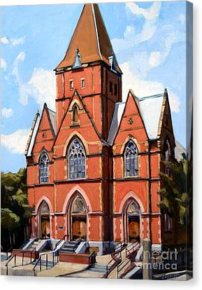 St. Augustine's Church Canvas Print by Deb Putnam