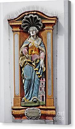 St Barbara Canvas Print by Sarah Loft