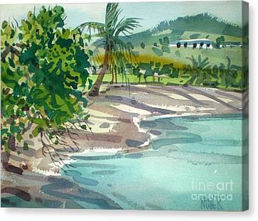 St. Croix Beach Canvas Print by Donald Maier