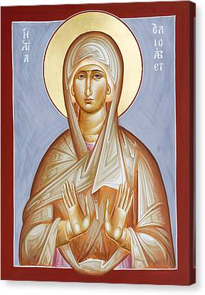 St Elizabeth Canvas Print by Julia Bridget Hayes