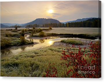 St. Joe River Valley Canvas Print by Idaho Scenic Images Linda Lantzy