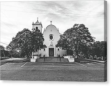 St. John The Baptist Catholic Church Canvas Print by Scott Pellegrin