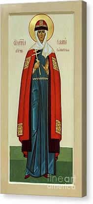 St. Juliana Canvas Print by Alyona Pastuhova