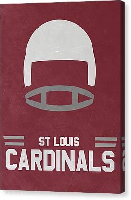 St Louis Cardinals Vintage Art Canvas Print by Joe Hamilton