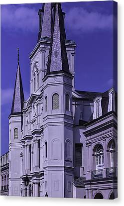 St. Louis Cathedral 2 Canvas Print by Garry Gay