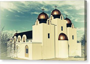 St Mary And St Abraam Coptic Orthodox Church 2 Canvas Print by Luther Fine Art