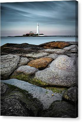 St Mary's Canvas Print by Dave Bowman