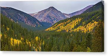St Mary's Glacier Area Autumn Panorama Canvas Print by James BO  Insogna