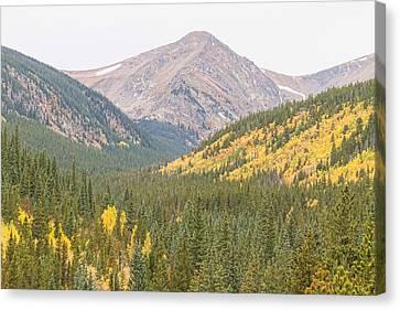 St Marys Glacier Autumn View Canvas Print by James BO  Insogna