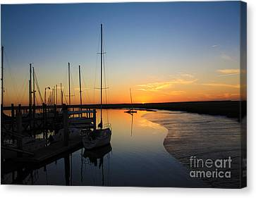 St. Mary's Sunset Canvas Print by M Glisson