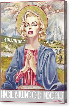 St Norma Canvas Print by John Dobie