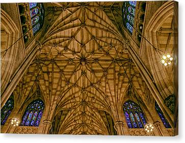 St. Patrick's Ceiling Canvas Print by Jessica Jenney