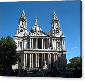 St Pauls Cathedral Canvas Print by Chris Day