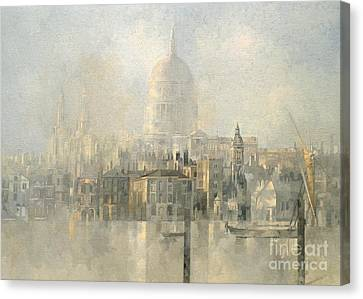 St Paul's Canvas Print by Peter Miller