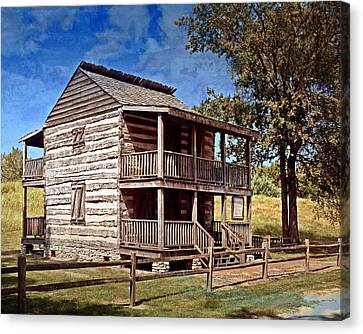 St. Peters Cabin Canvas Print by Marty Koch